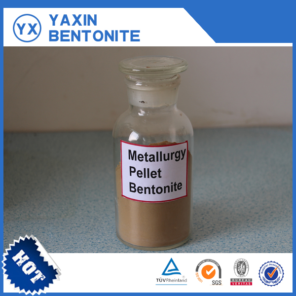 Metallurgy-pellet-bentonite